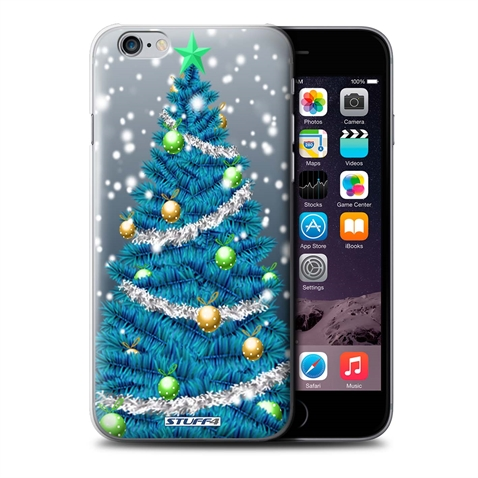 Iphone 6 Plus Christmas Case.Details About Stuff4 Phone Case Back Cover For Apple Iphone 6 Plus 5 5 Christmas Tree