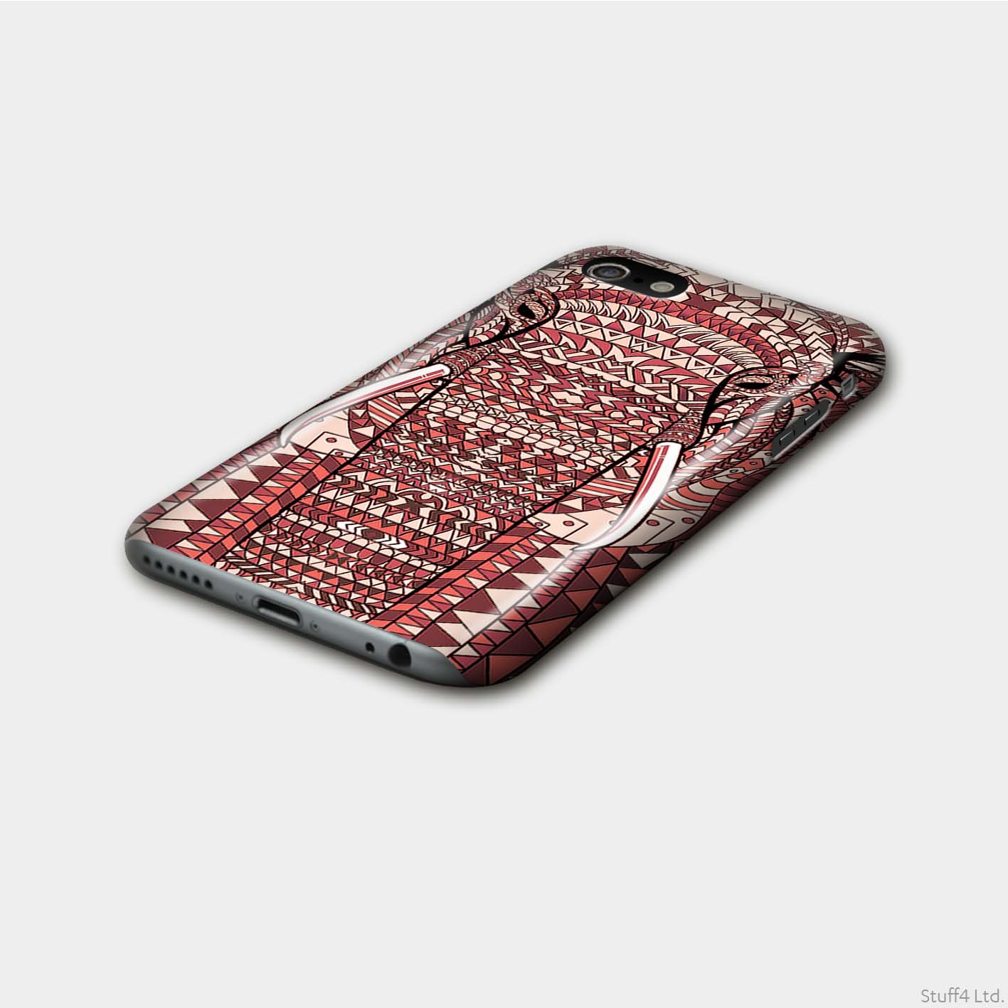 Gloss-Phone-Case-for-Samsung-Galaxy-S9-G960-Aztec-Animal-Design thumbnail 7