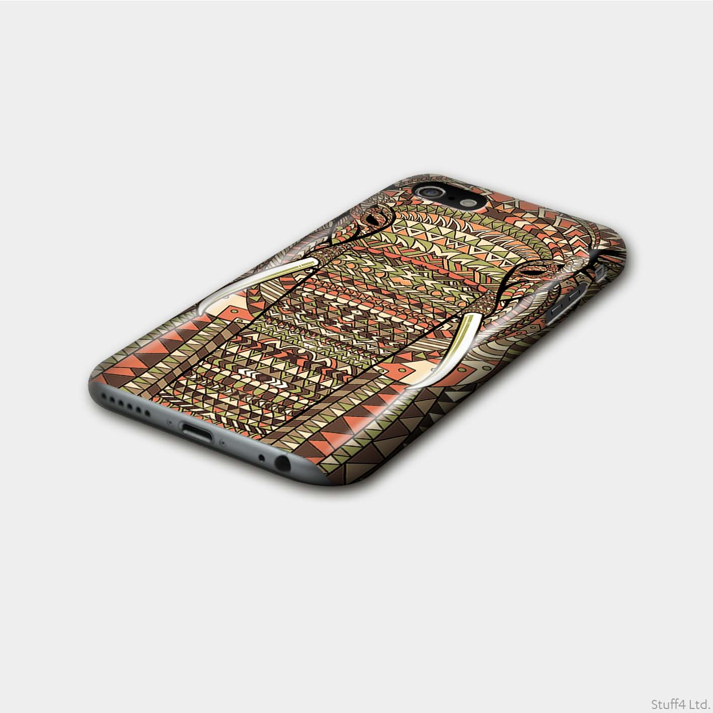 Matte-Phone-Case-for-Apple-iPhone-XR-Aztec-Animal-Design thumbnail 7