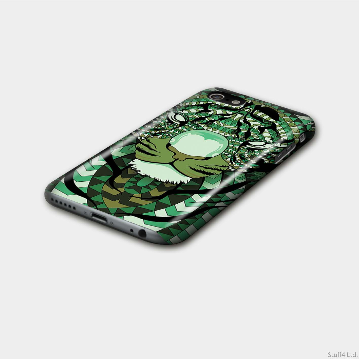 Gloss-Phone-Case-for-Apple-iPhone-8-Aztec-Animal-Design thumbnail 7