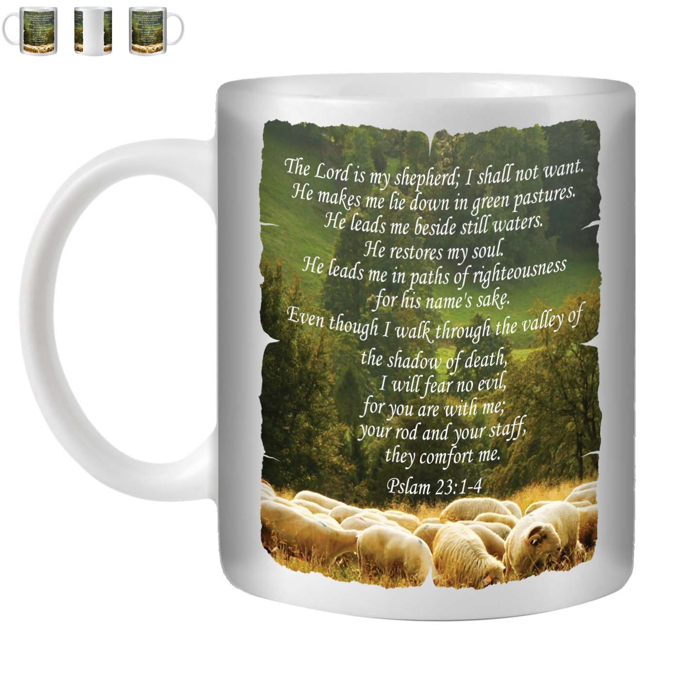 Details about STUFF4 Tea/Coffee Mug/Cup 350ml/Christian Bible Verse/ST10
