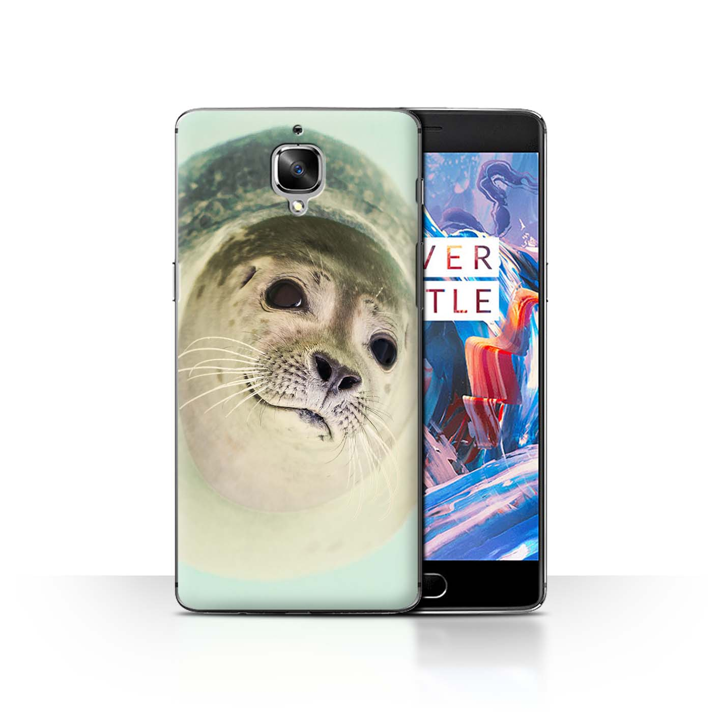 Coque-Etui-Housse-de-Stuff4-pour-OnePlus-3-3T-Animal-Drole-Meme