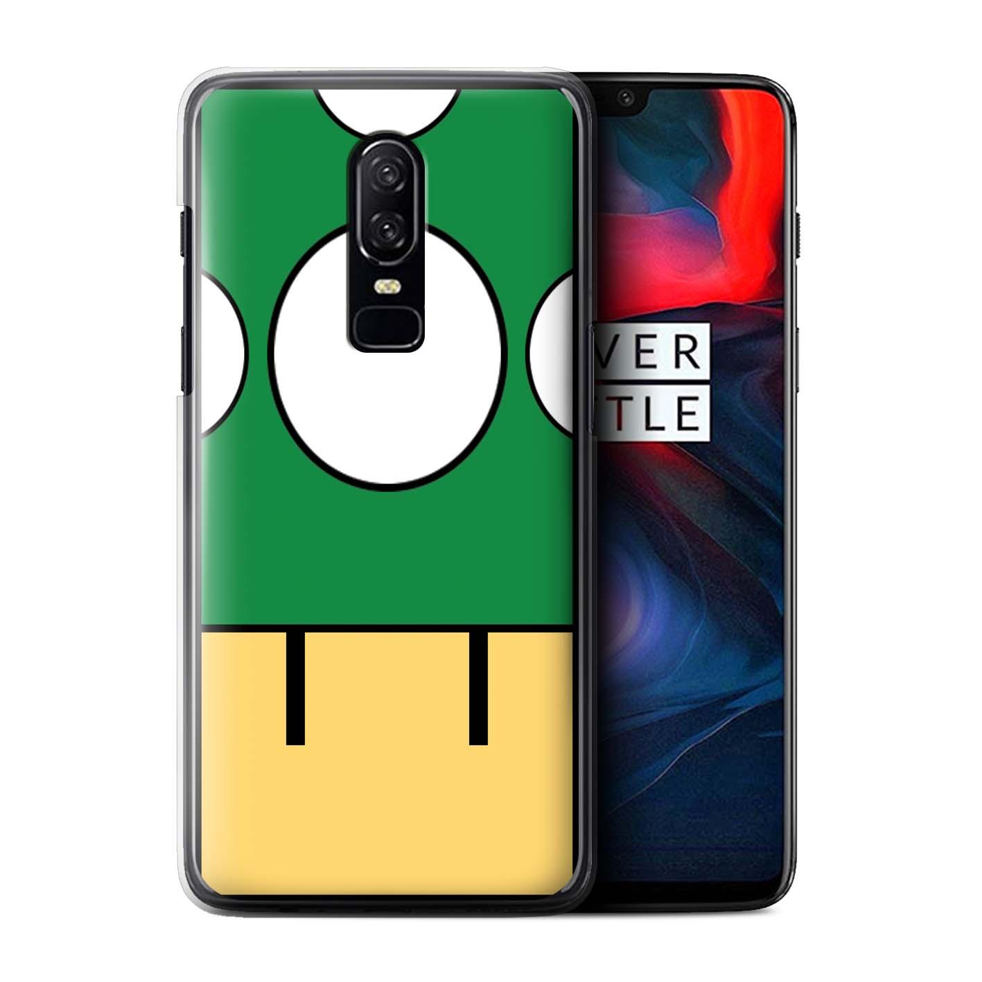 Coque-Etui-Housse-de-Stuff4-pour-OnePlus-6-Personnages-Jeu-Retro