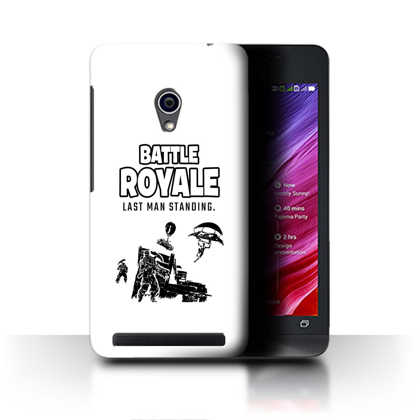 STUFF4-Phone-Case-Back-Cover-for-Asus-Zenfone-4-A450CG-FN-Battle-Royale