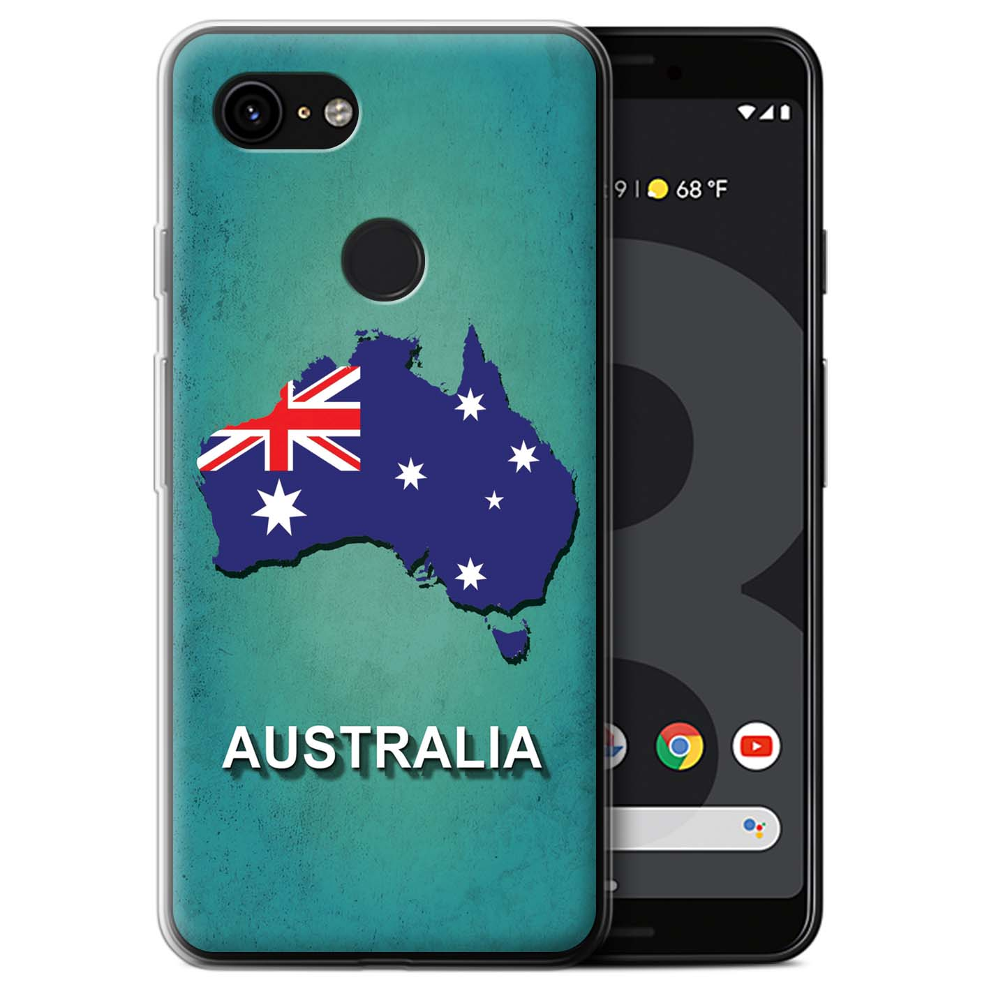 Gel-TPU-Case-for-Google-Pixel-3-Flag-Nations thumbnail 10
