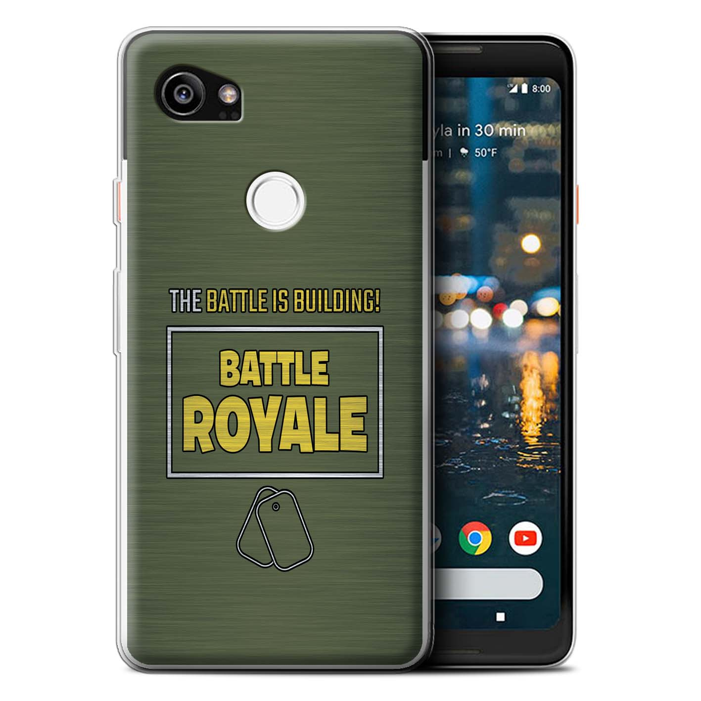 STUFF4-Gel-TPU-Phone-Case-for-Google-Pixel-2-XL-FN-Battle-Royale