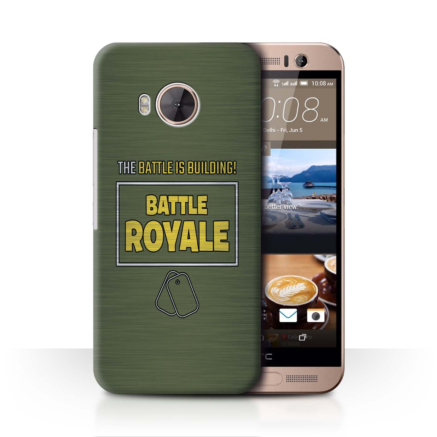 STUFF4-Phone-Case-Back-Cover-for-HTC-One-ME-FN-Battle-Royale