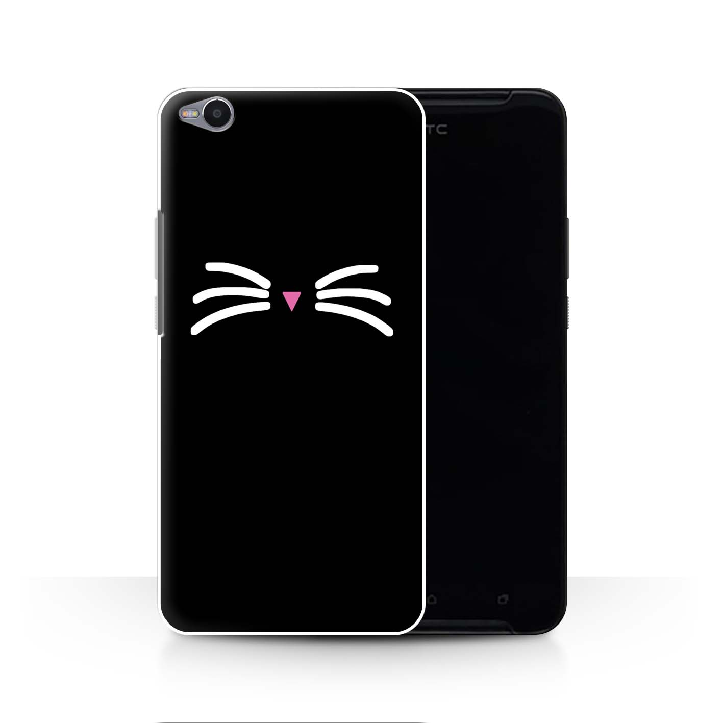 STUFF4-Back-Case-Cover-Skin-for-HTC-One-X9-Cute-Cartoon-Cat
