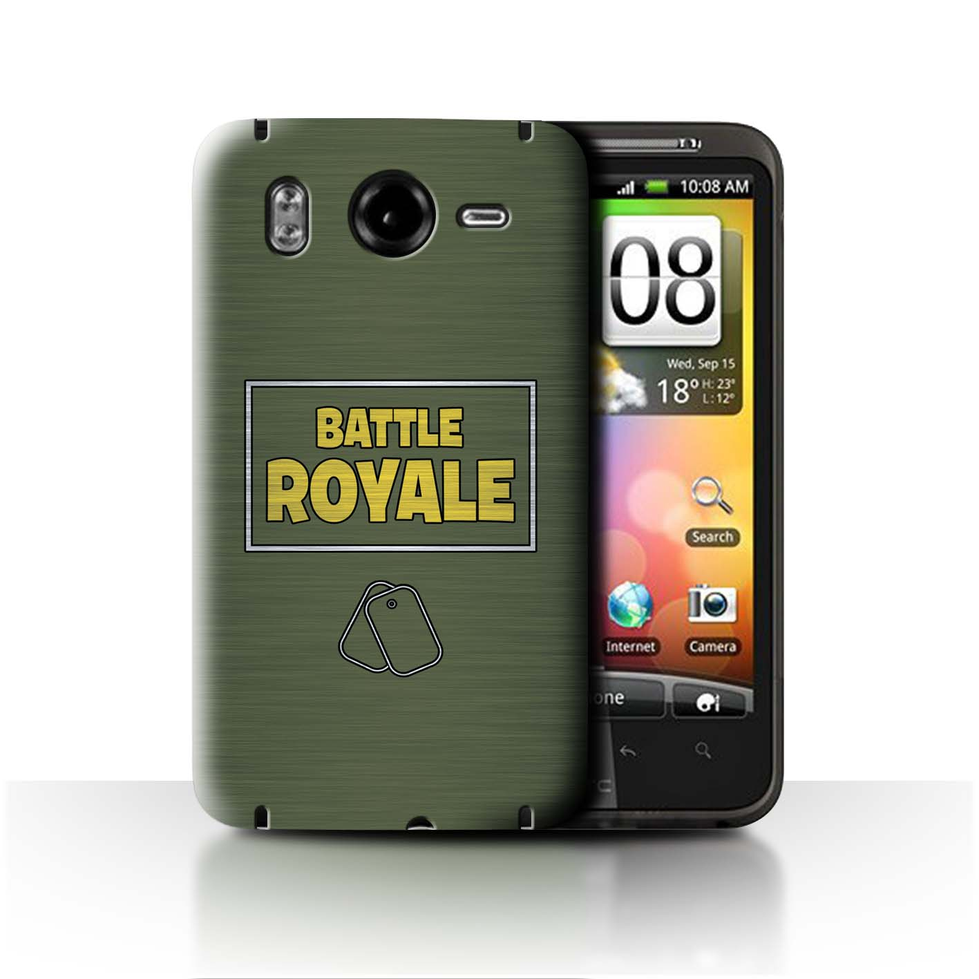 STUFF4-Phone-Case-Back-Cover-for-HTC-Desire-HD-G10-FN-Battle-Royale