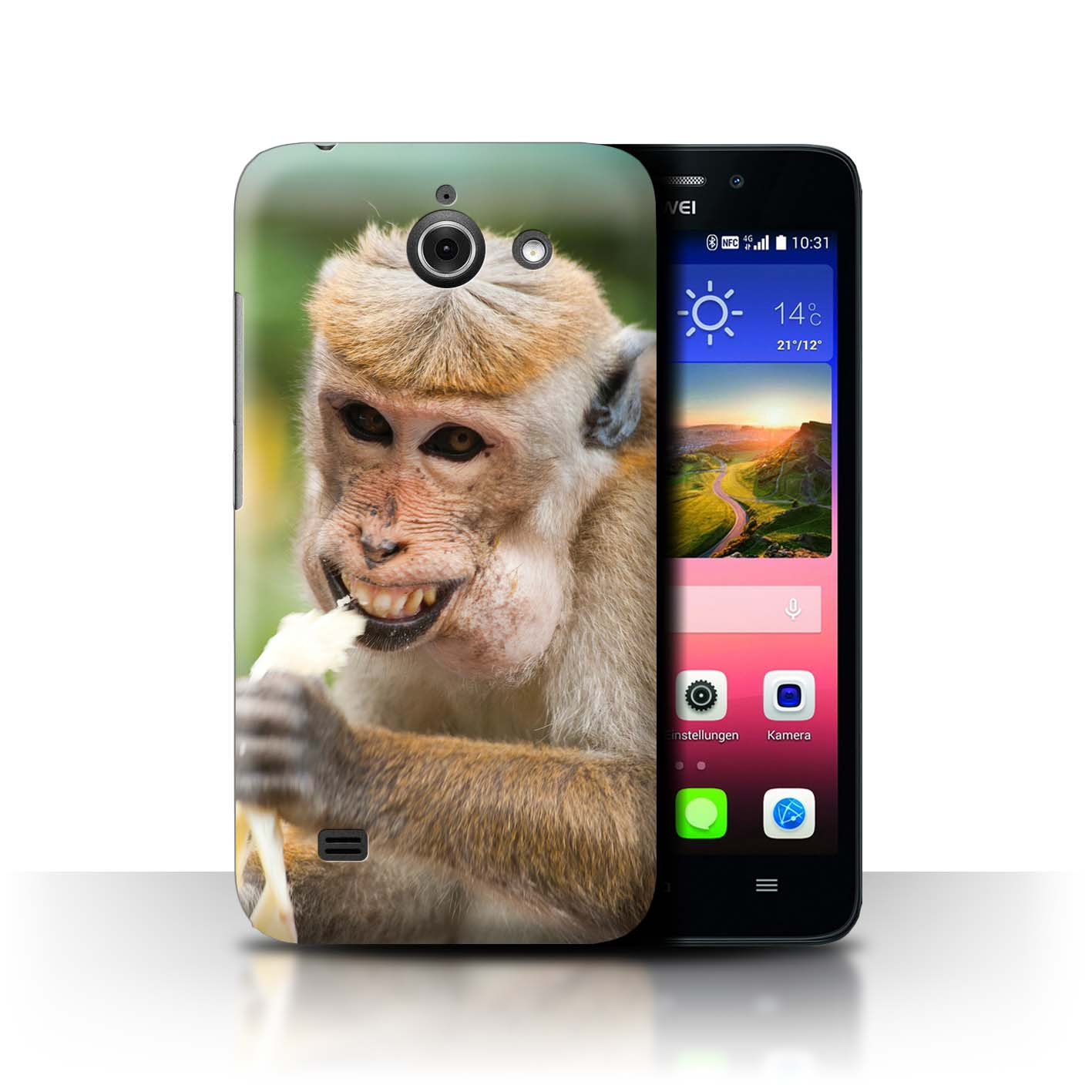 Stuff4-Huelle-Case-Backcover-fuer-Huawei-Ascend-Y550-LTE-Lustiges-Tier-Meme