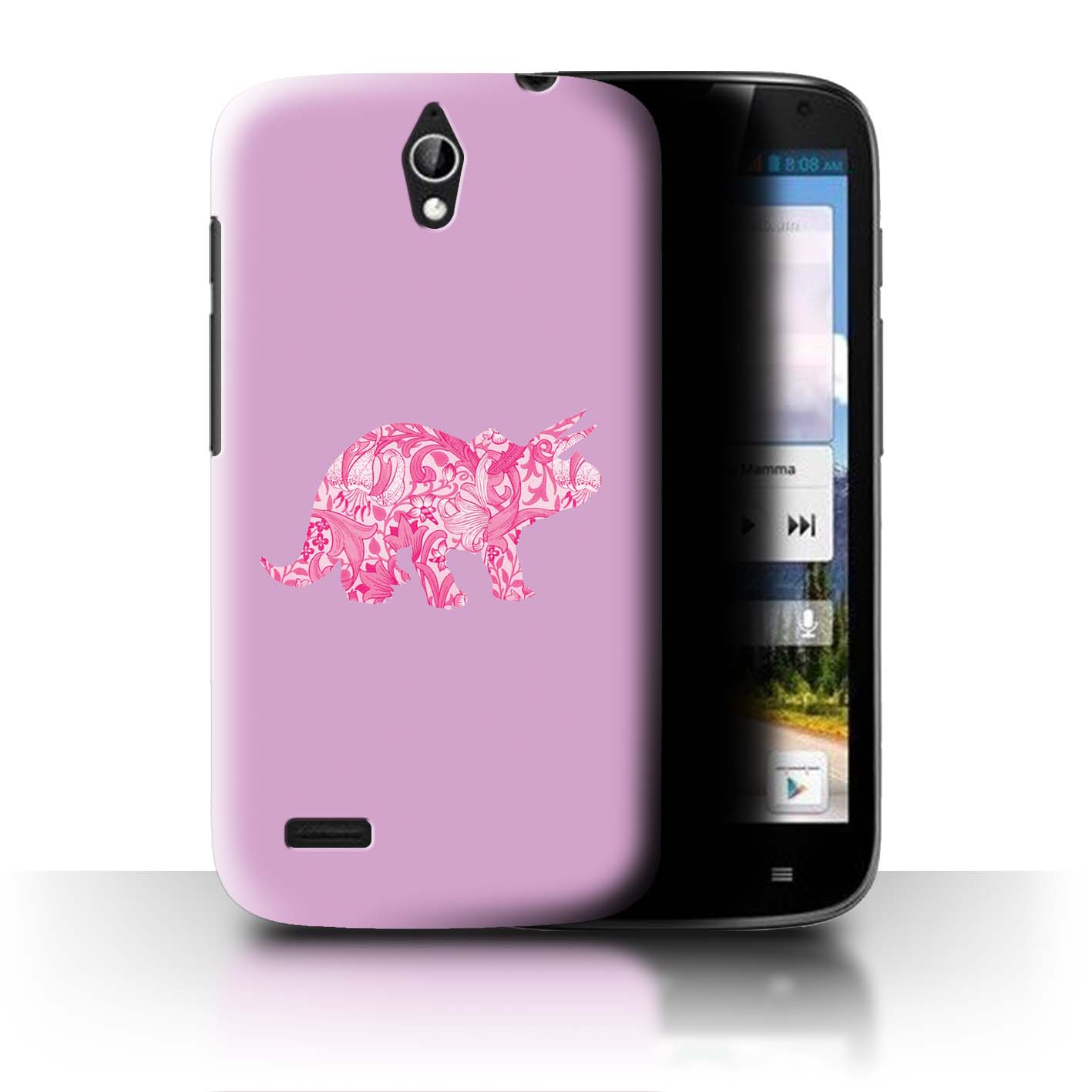 STUFF4-Back-Case-Cover-Skin-for-Huawei-Ascend-G610-Cartoon-Dinosaurs