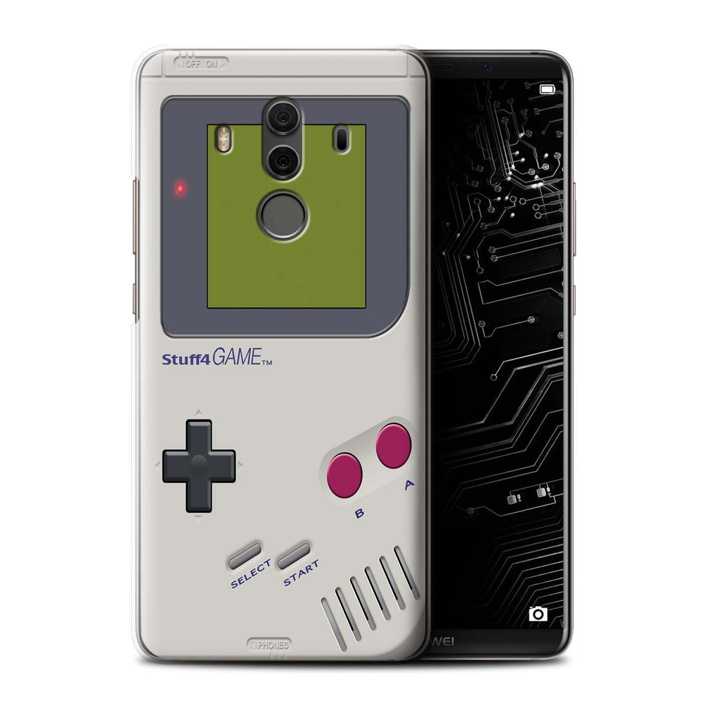 Protective Hard Back Case for Huawei Mate 10 Pro / Games Console Collection  / Nintendo Game Boy