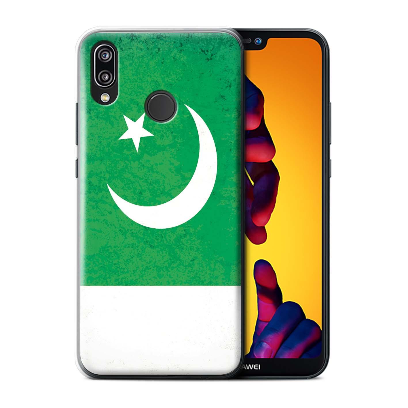 Phone-Case-for-Huawei-P20-Lite-2018-Asian-Flag thumbnail 25