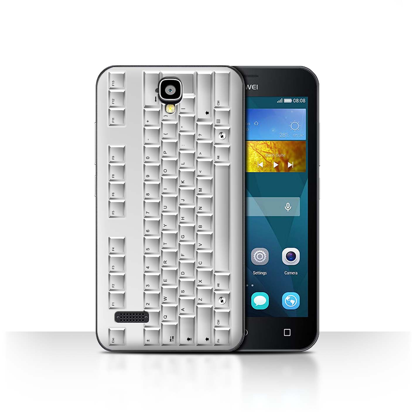 Pc Keyboard/White Keys/Buttons Design for Huawei Y5 /Y560