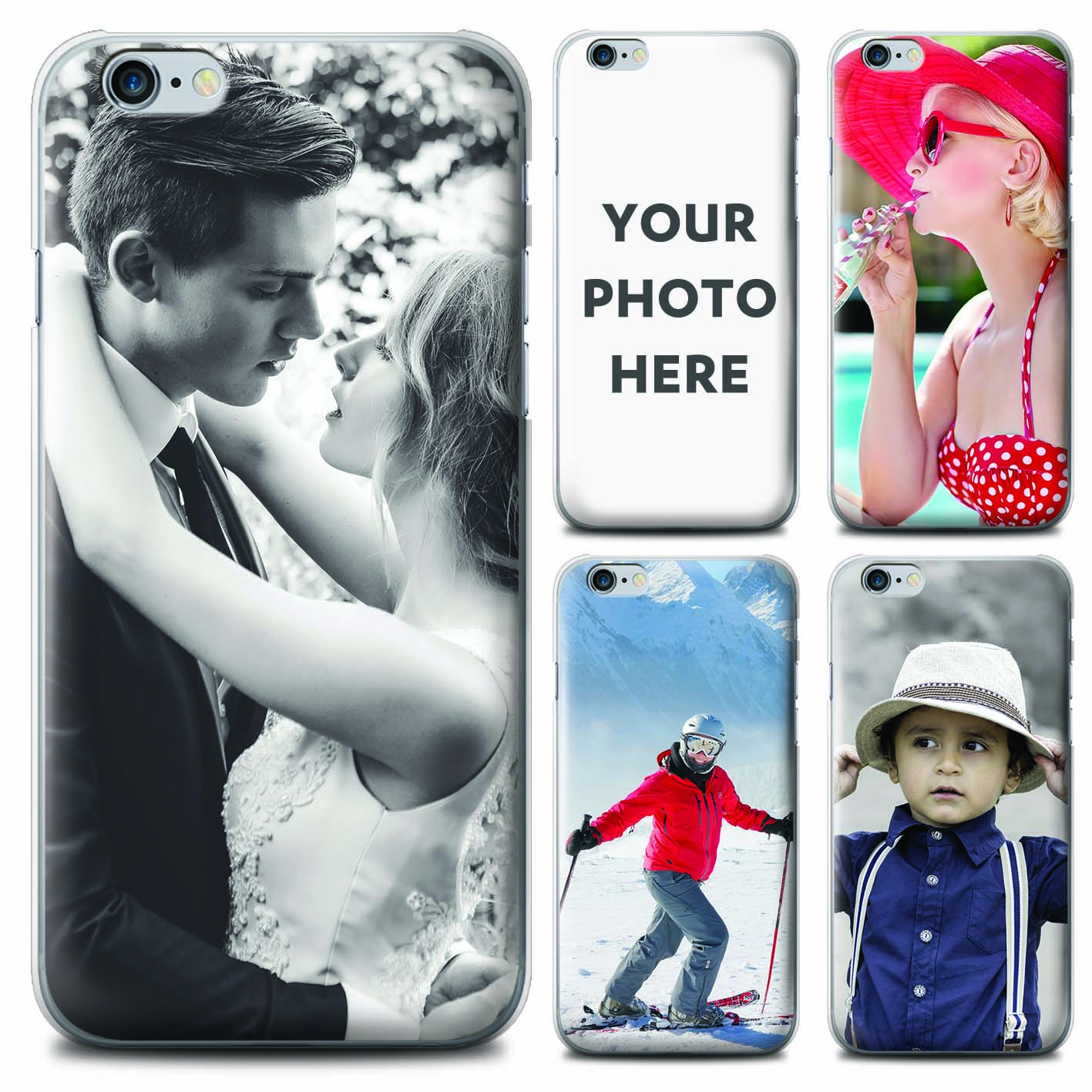 Details About Personalized Custom Photo Phone Case For Apple Iphone Image Collage Gel Cover