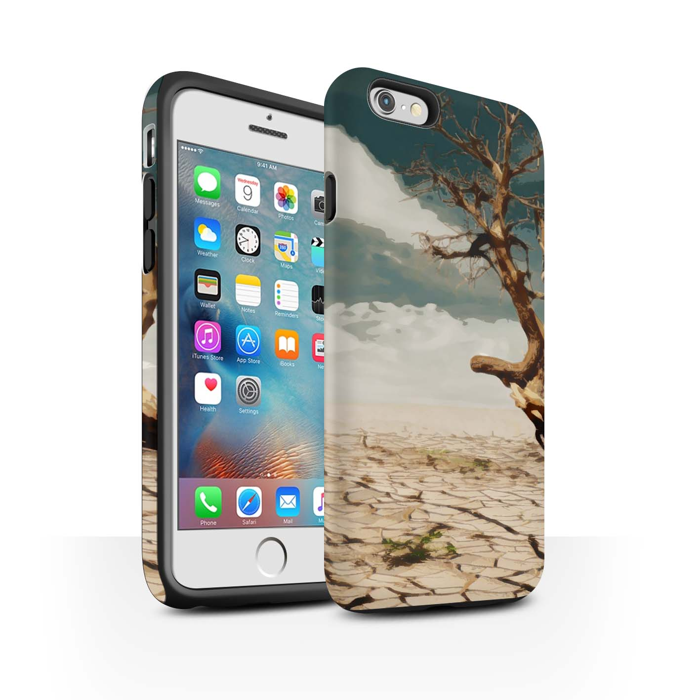 STUFF4-Matte-Tough-Phone-Case-for-Apple-iPhone-6-Plus-5-5-Beautiful-World-Art