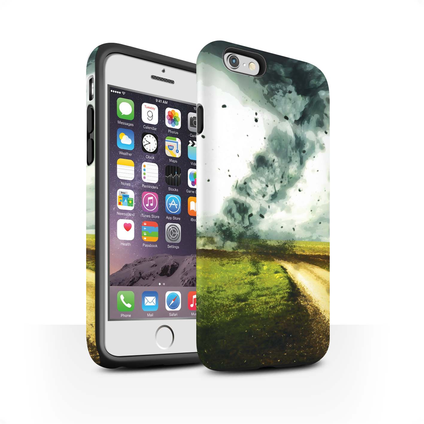 STUFF4-Matte-Tough-Phone-Case-for-Apple-iPhone-6S-Beautiful-World-Art