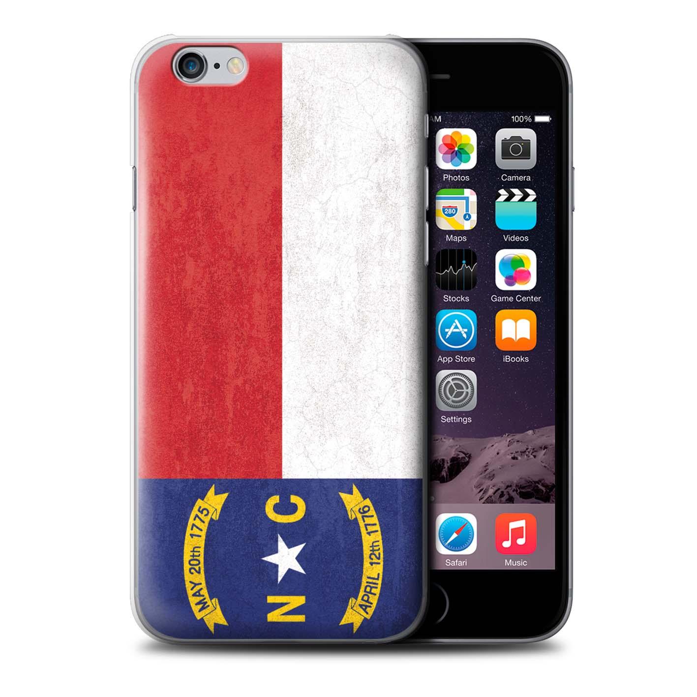 Coque-Etui-Housse-pour-Apple-iPhone-6S-Plus-Ancien-Drapeau-Etat-Americain