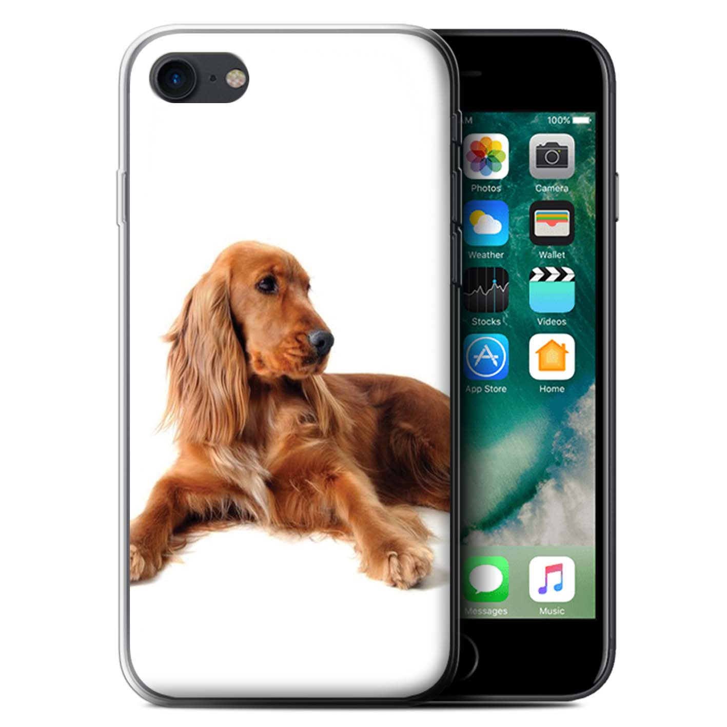 Gel-TPU-Case-for-Apple-iPhone-7-Dog-Breeds thumbnail 13