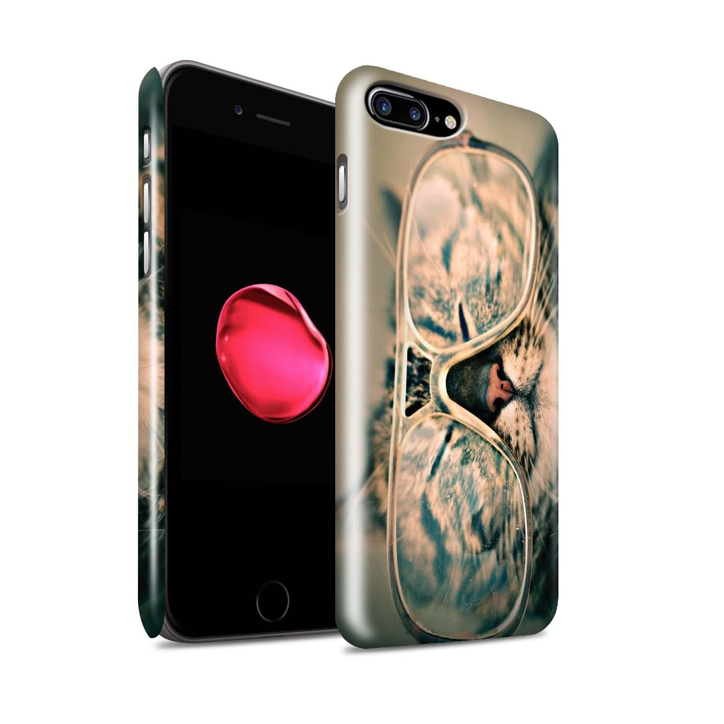 STUFF4-Glanz-Snap-Huelle-Case-fuer-Apple-iPhone-7-Plus-Lustiges-Tier-Meme