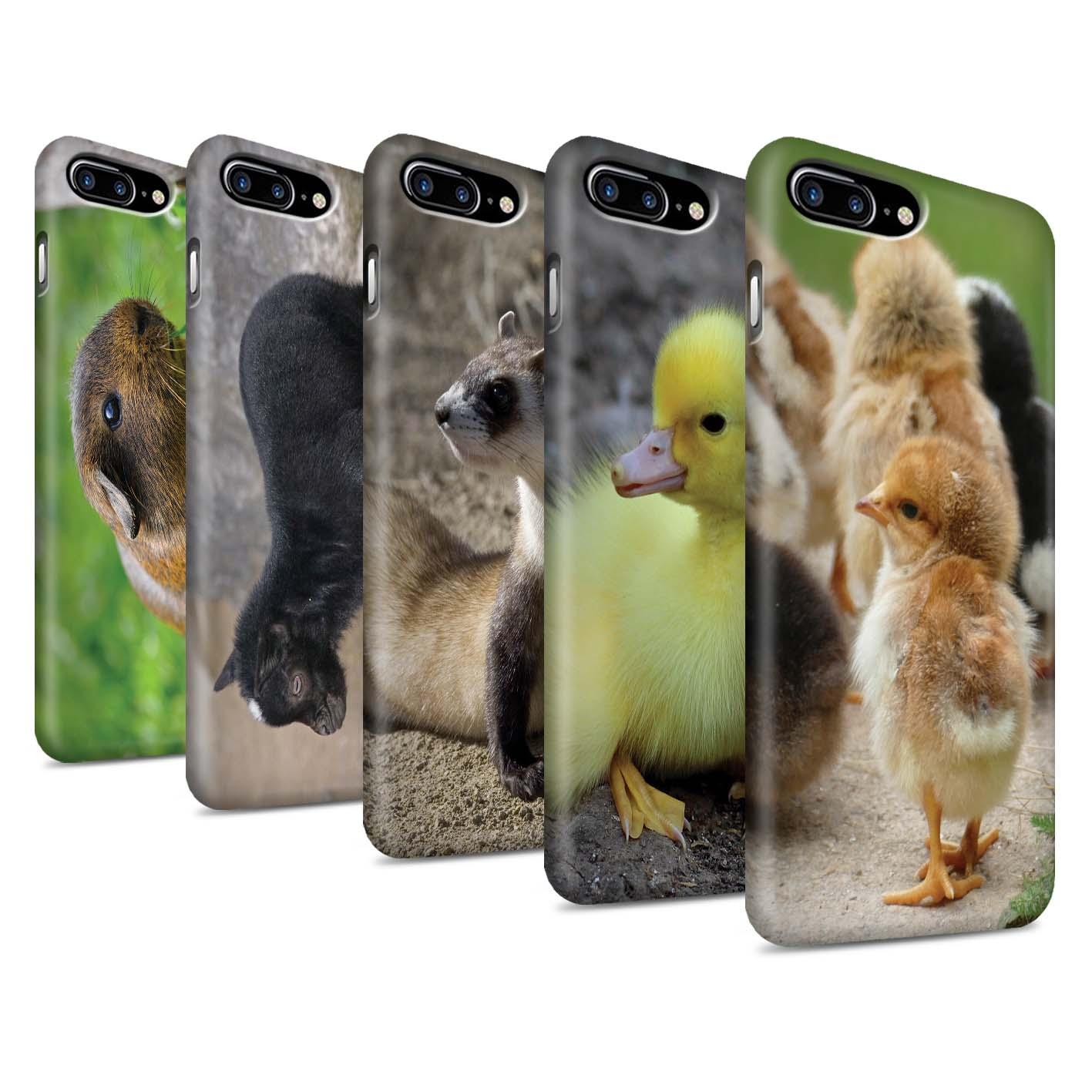 Matte-Phone-Case-for-Apple-iPhone-7-Plus-Cute-Pet-Animals