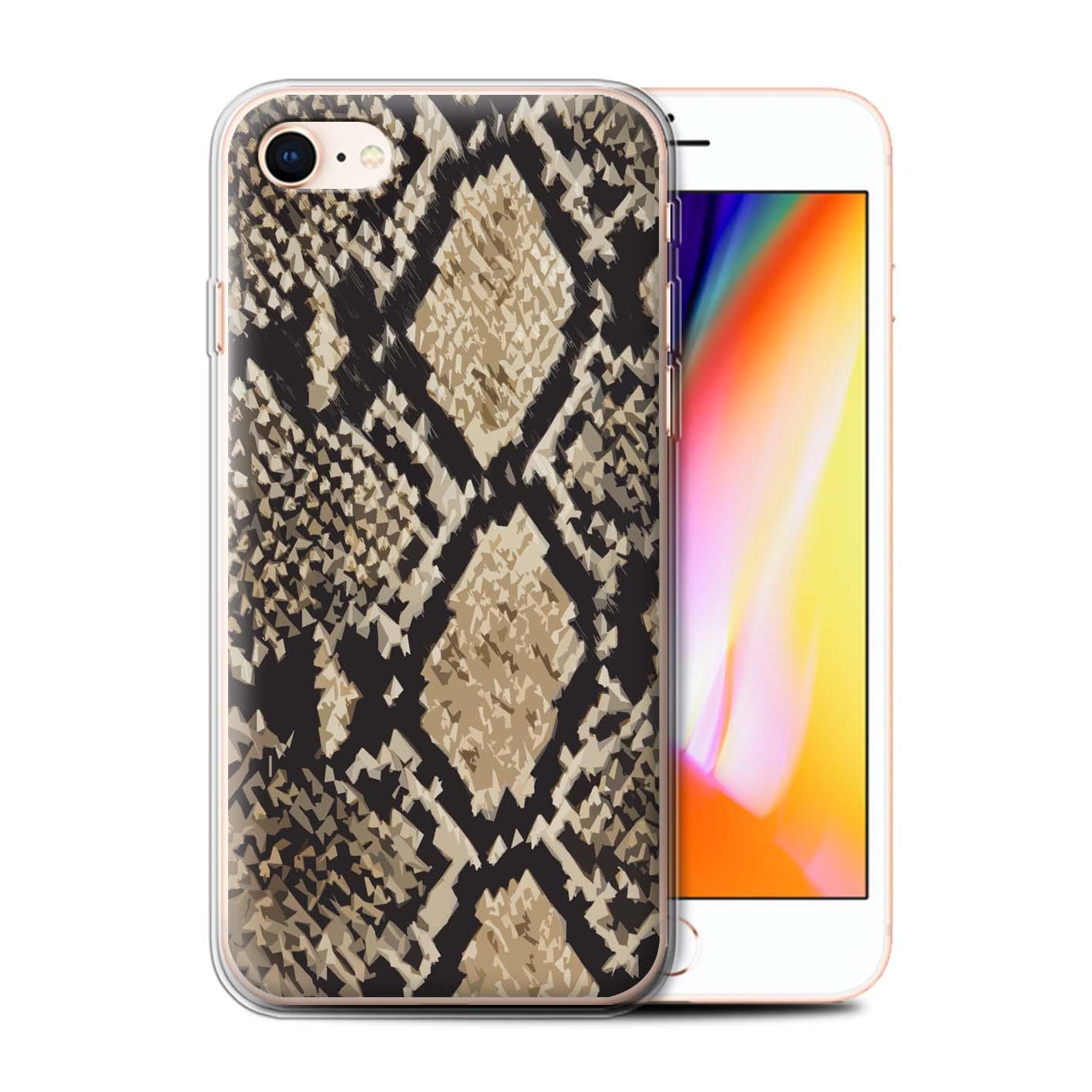 Gel-TPU-Case-for-Apple-iPhone-8-Fashion-Animal-Print-Pattern thumbnail 13