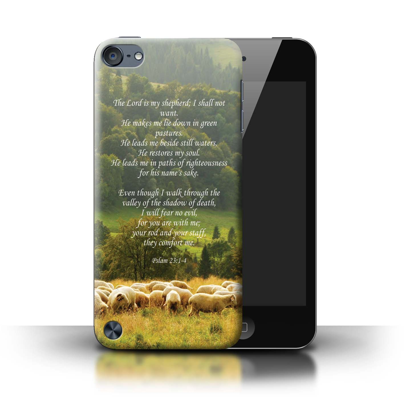 Phone-Case-for-Apple-iPod-Touch-5-Christian-Bible-Verse thumbnail 11