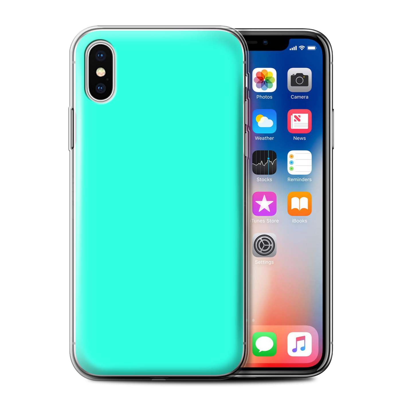 Gel-TPU-Case-for-Apple-iPhone-X-10-Colours thumbnail 15