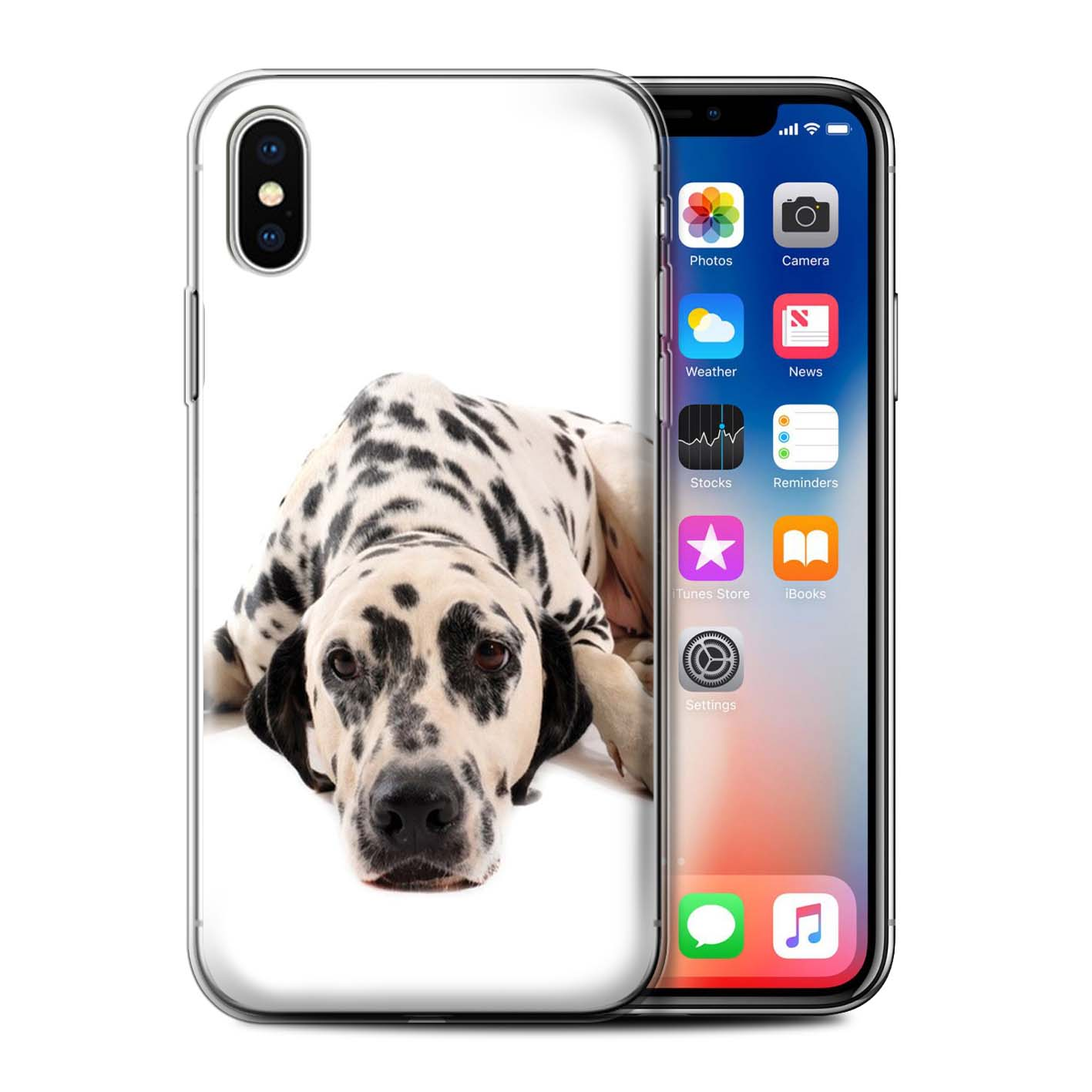 Gel-TPU-Case-for-Apple-iPhone-X-10-Dog-Breeds thumbnail 14