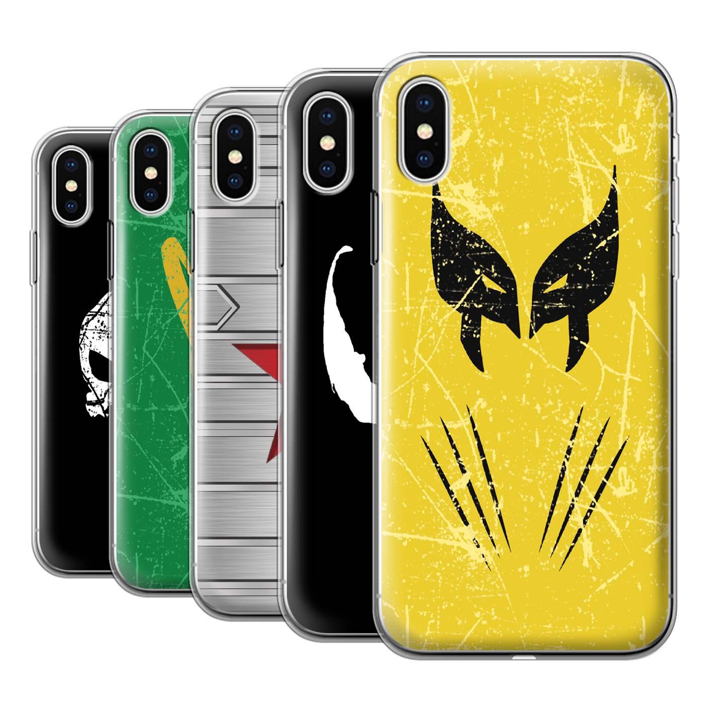 Gel-TPU-Case-for-Apple-iPhone-X-10-Anti-Hero-Comic-Art