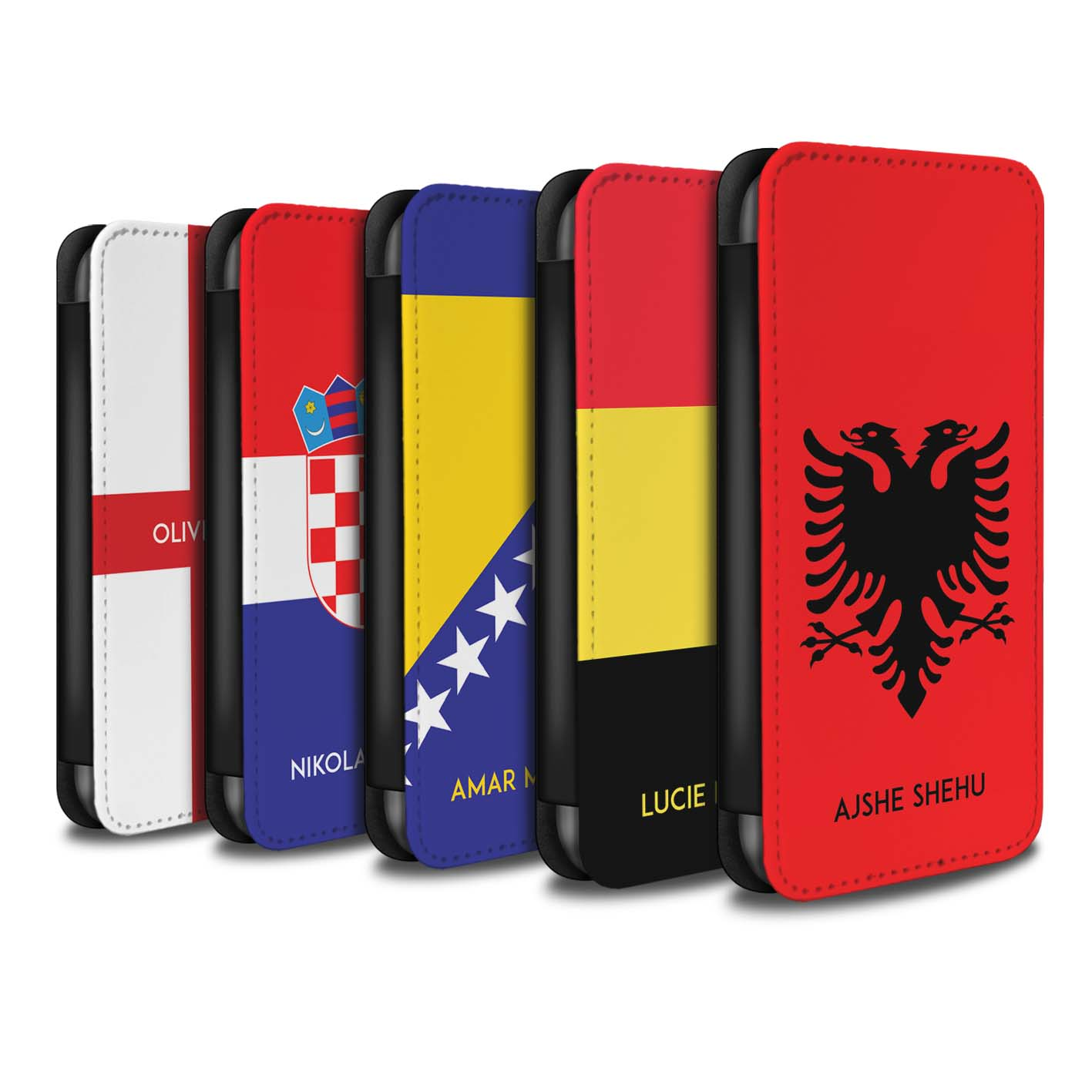 Personalised-Case-Wallet-for-Apple-iPhone-XR-Custom-National-Nation-Flag-2