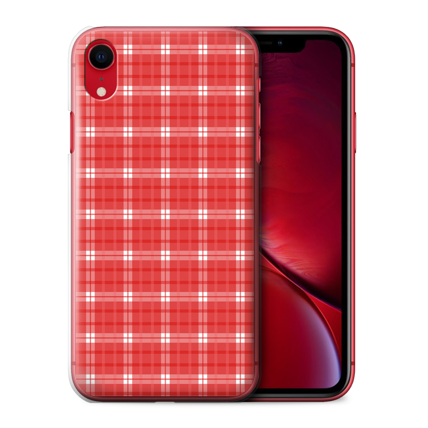 Stuff-4-Coque-Telephone-couverture-arriere-pour-Apple-iPhone-XR-ROUGE-fashion