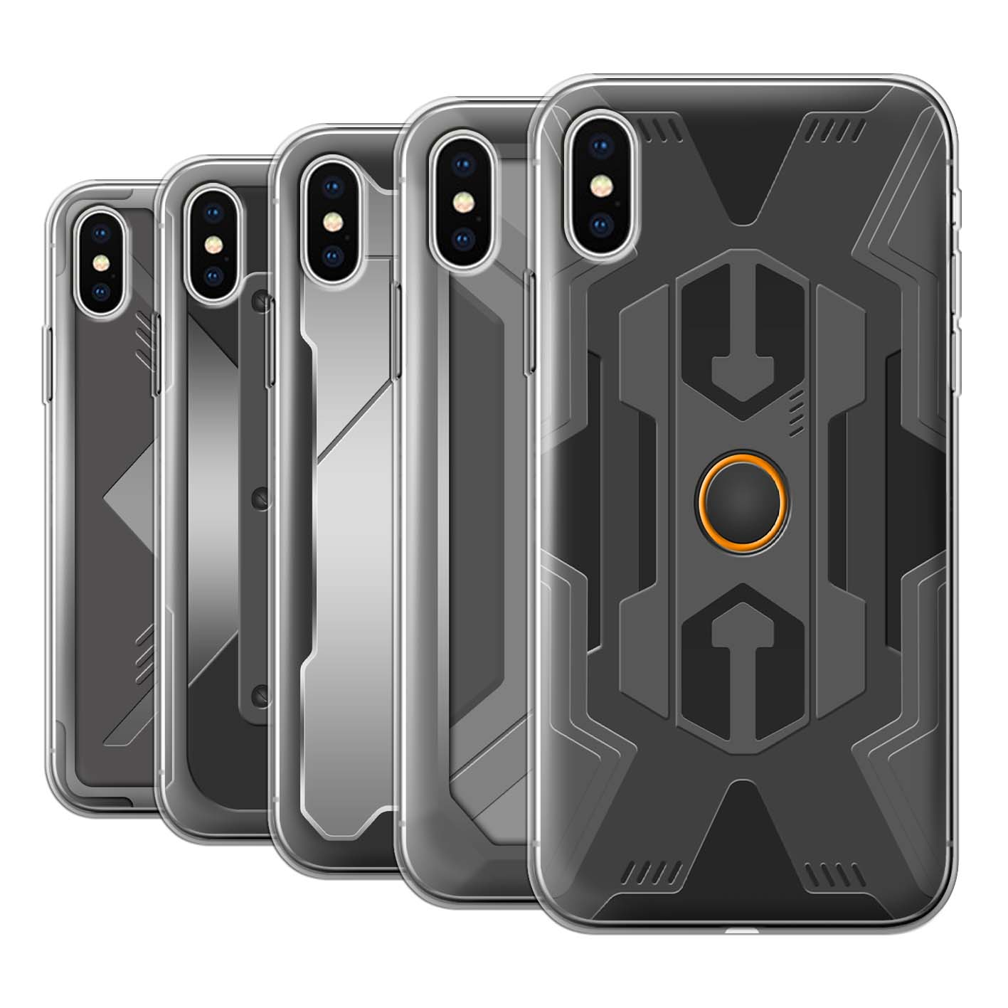 Gel-TPU-Case-for-Apple-iPhone-XS-Armour-Armor