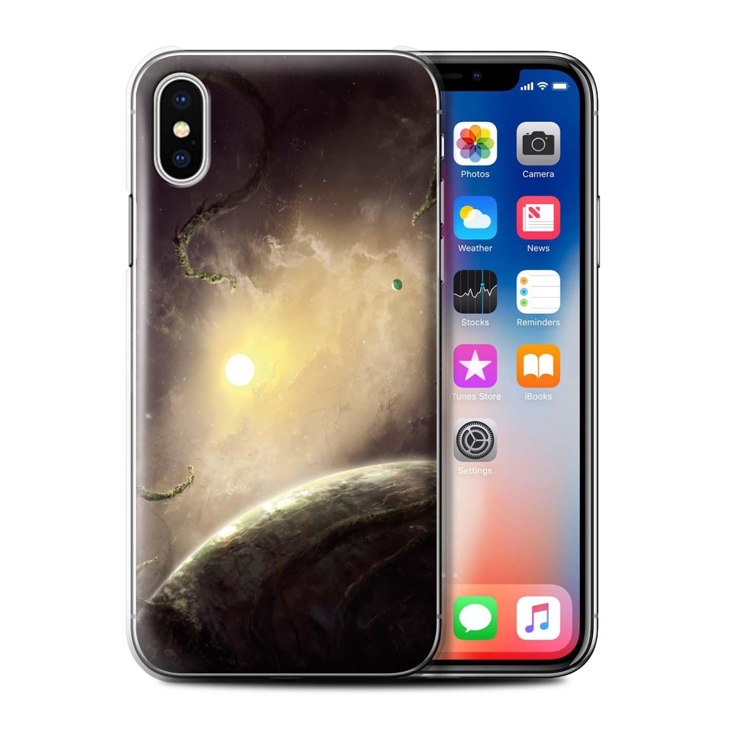 Officielle-Chris-Cold-Coque-pour-Apple-iPhone-XS-Monde-Galactique