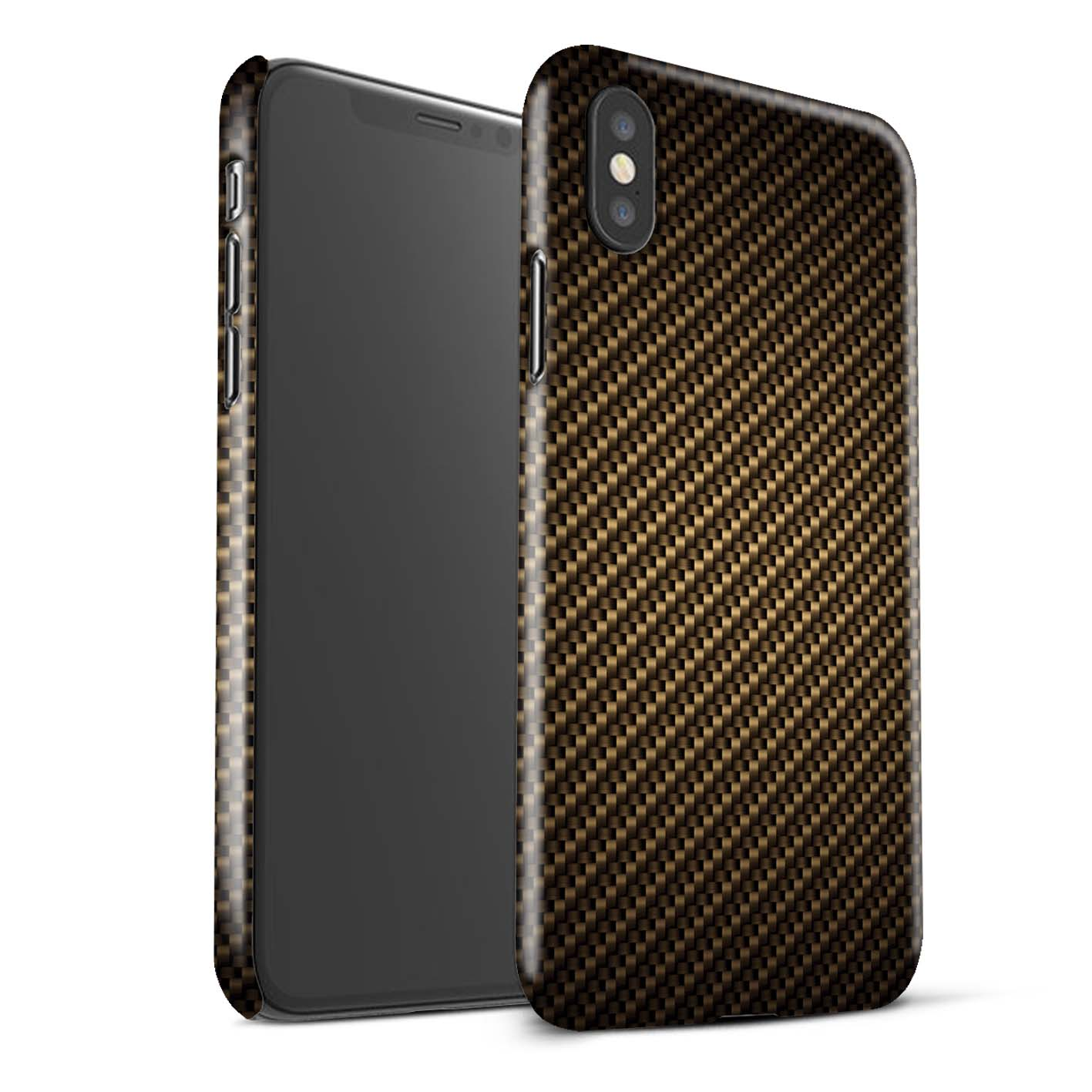 Gloss-Phone-Case-for-Apple-iPhone-XS-Max-Carbon-Fibre-Effect-Pattern thumbnail 9