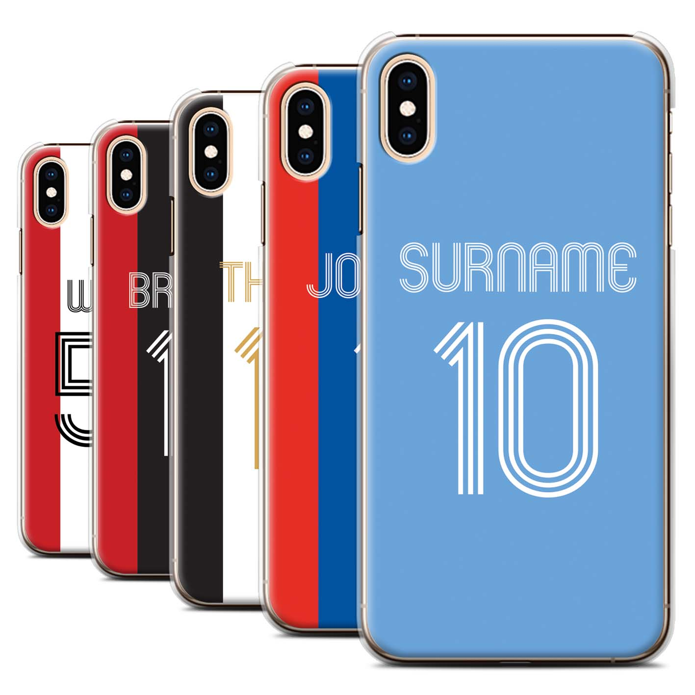 Personalised-Case-for-Apple-iPhone-XS-Max-Custom-Football-Club-Shirt-Kit