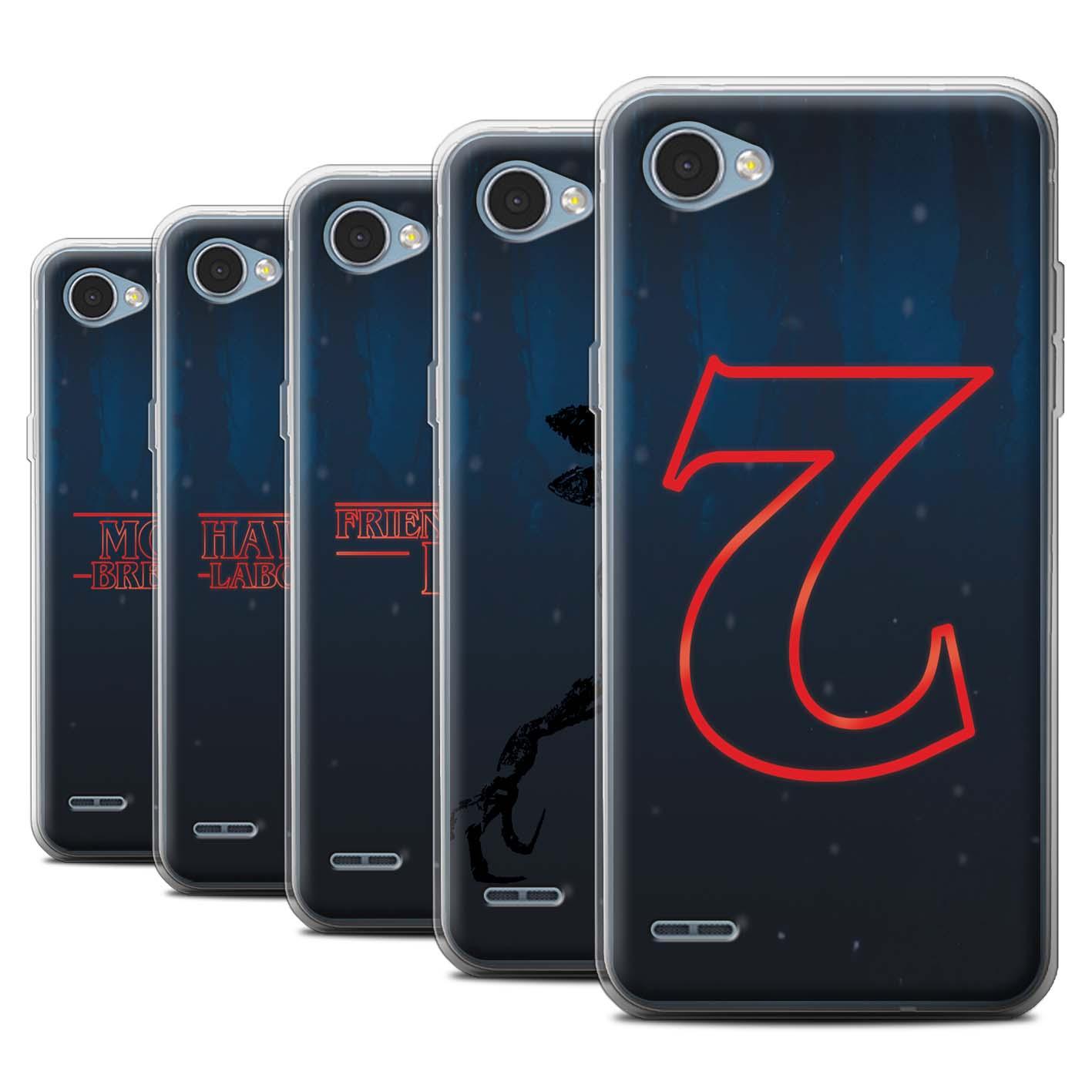 newest collection 8c70f bbc50 STUFF4 Gel/TPU Case/Cover for LG Q6/M700/Strange Retro | eBay