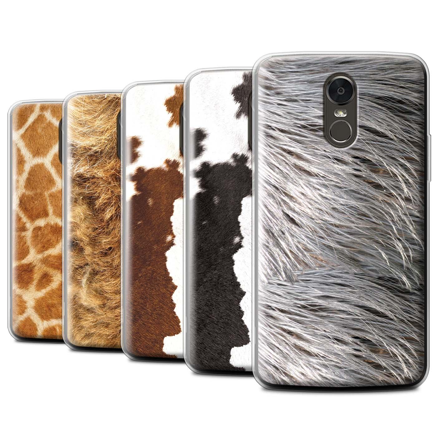Gel-TPU-Case-for-LG-Stylus-3-Stylo-3-K10-Pro-Animal-Fur-Effect-Pattern