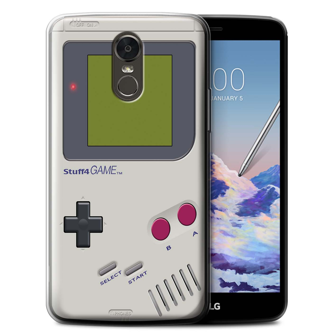 factory price 79afe 75223 Protective Gel/TPU Case for LG Stylus 3/Stylo 3/K10 Pro / Games Console  Collection / Nintendo Game Boy