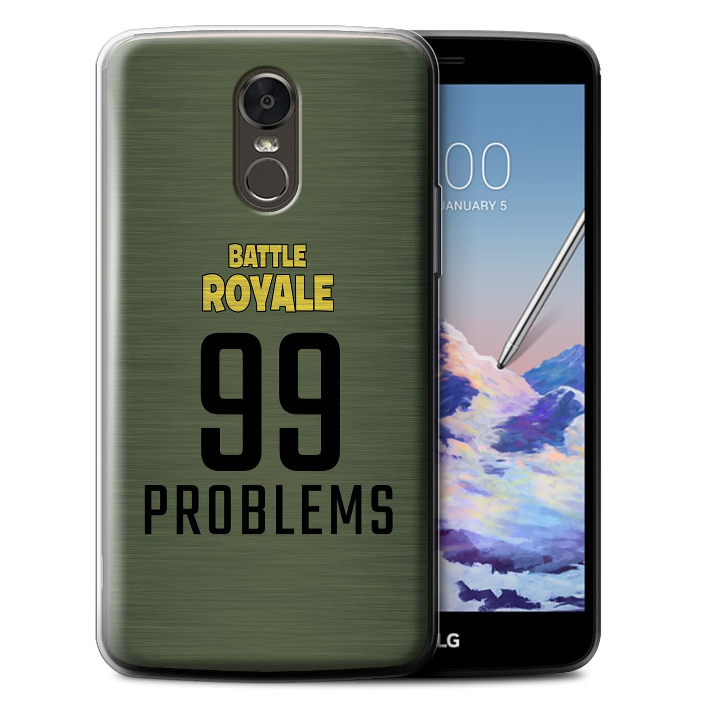 STUFF4-Gel-TPU-Phone-Case-for-LG-Stylus-3-Stylo-3-K10-Pro-FN-Battle-Royale