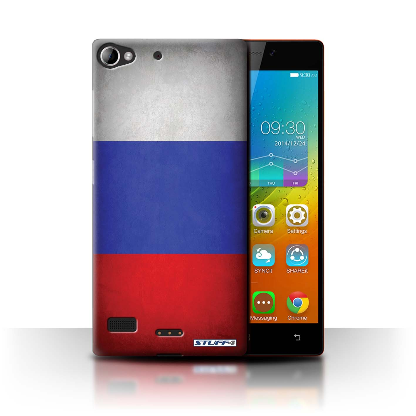 reputable site 34c3f 88dc3 Russia/Russian Flags Design for Lenovo Vibe X2 Clear Hard Back Case