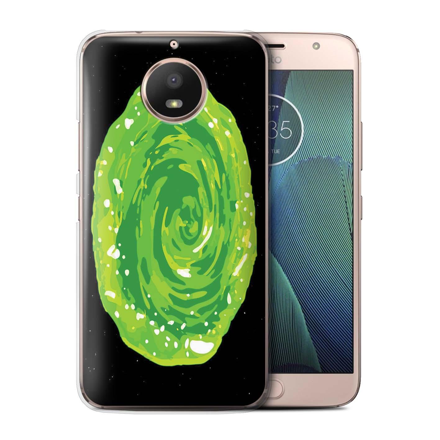 Coque-Etui-Housse-de-Stuff4-pour-Motorola-Moto-G5S-Tele-Alien-Drole-Dessin-Anime
