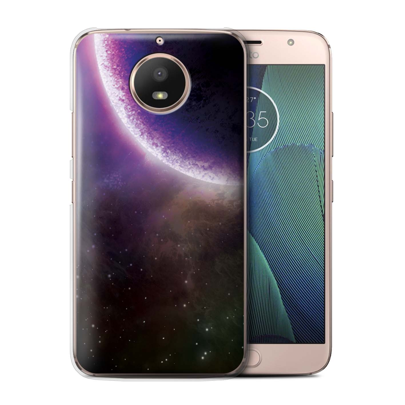 STUFF4-Back-Case-Cover-Skin-for-Motorola-Moto-G5S-Space-Cosmos