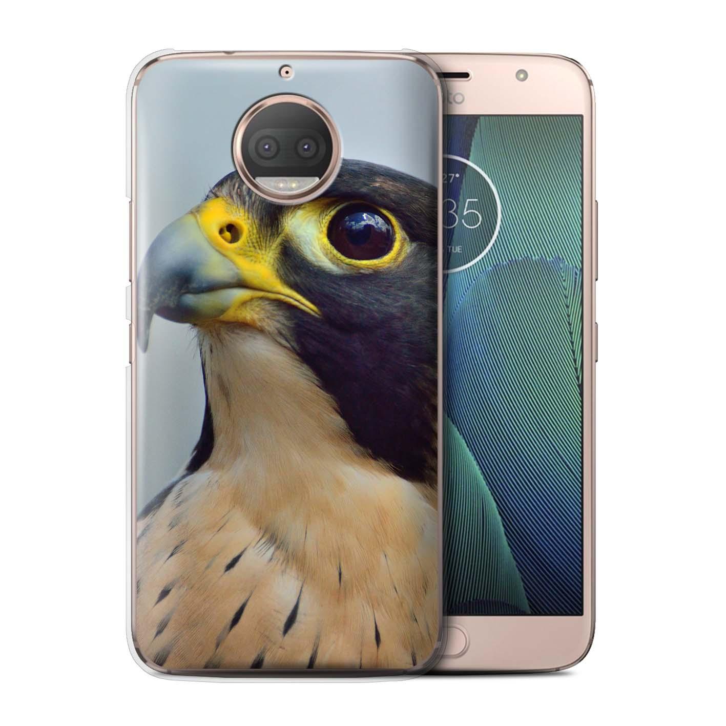 STUFF4-Back-Case-Cover-Skin-for-Motorola-Moto-G5S-Plus-Birds-of-Prey