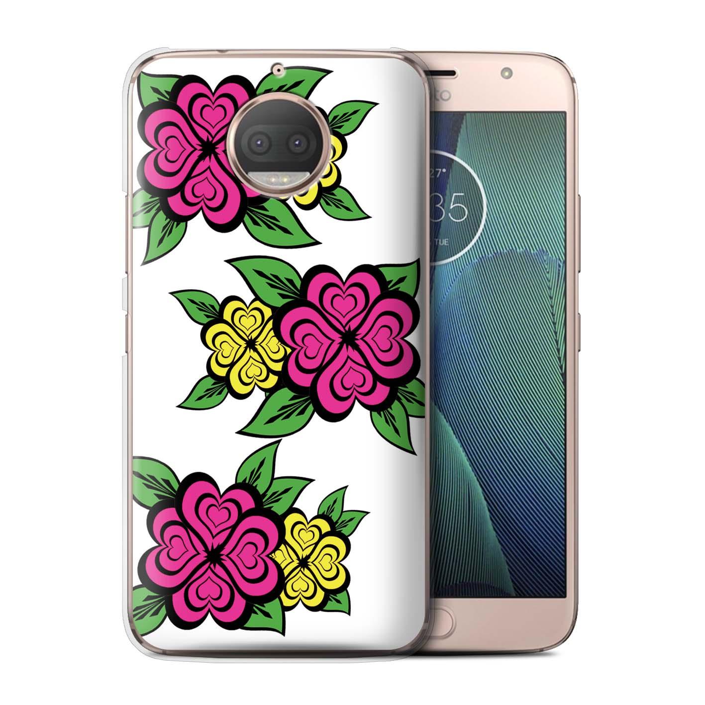 Stuff4-Huelle-Case-Backcover-fuer-Motorola-Moto-G5S-Plus-Liebe-Herz-Rosen