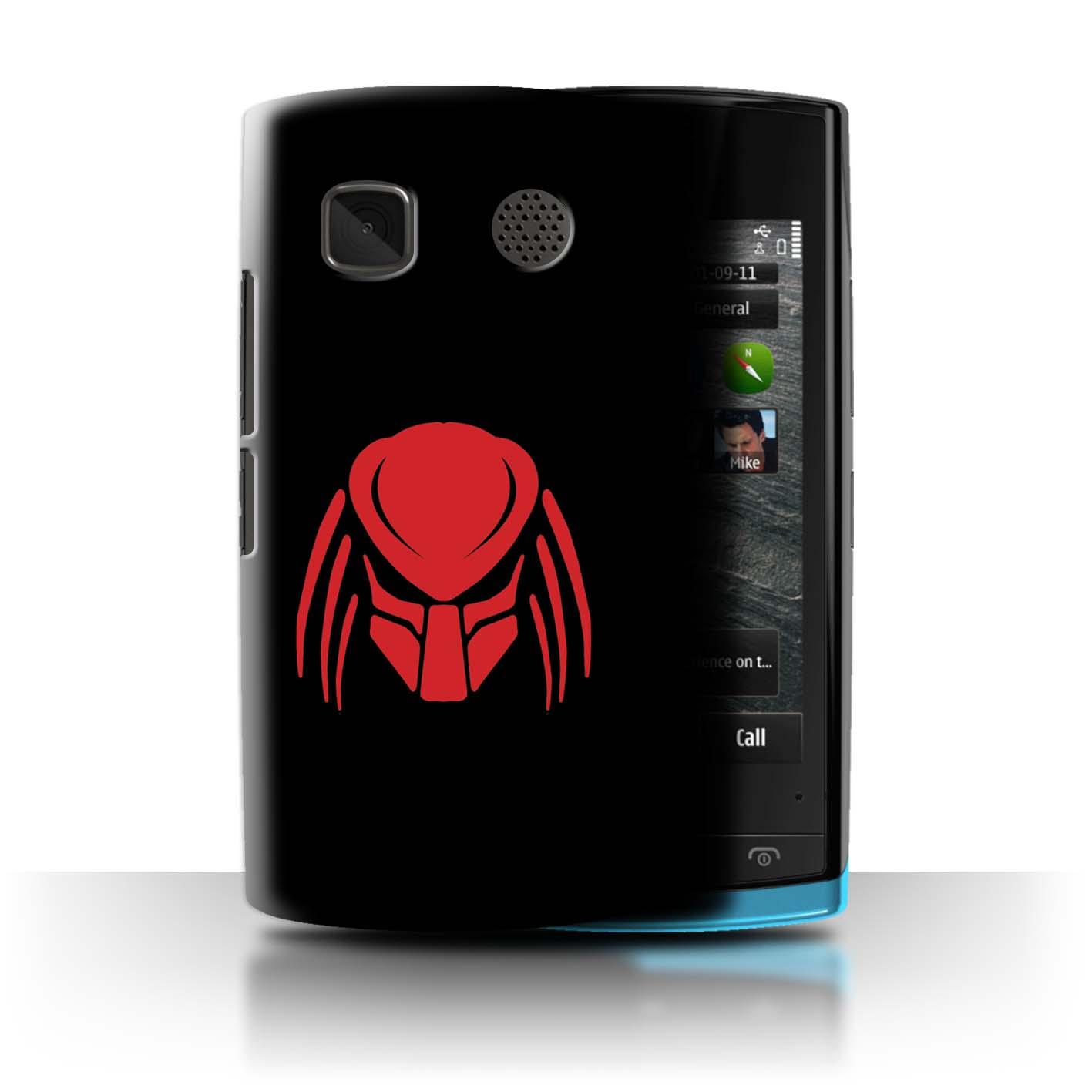STUFF4-Phone-Case-Back-Cover-for-Nokia-500-Alien-Hunter-Film-Art