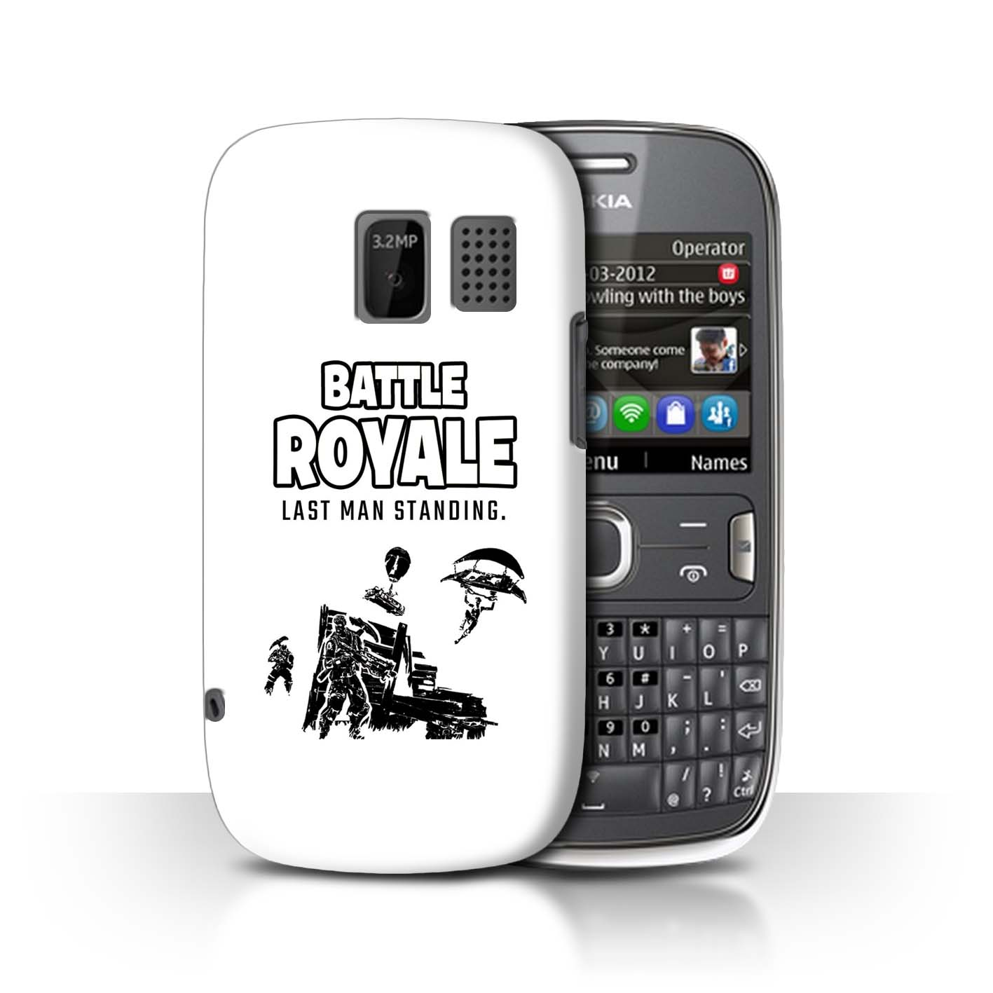 STUFF4-Phone-Case-Back-Cover-for-Nokia-Asha-302-FN-Battle-Royale