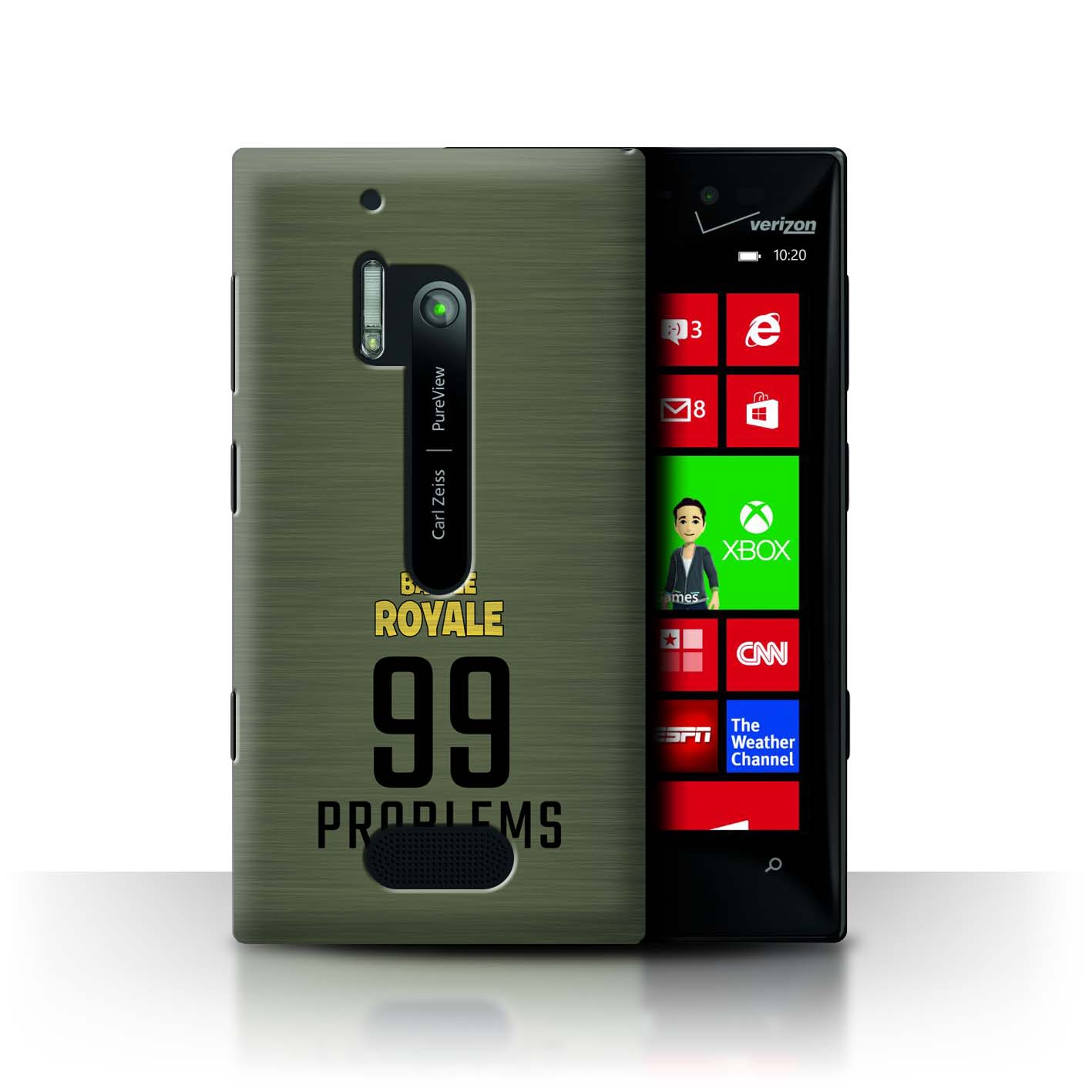 STUFF4-Phone-Case-Back-Cover-for-Nokia-Lumia-928-FN-Battle-Royale