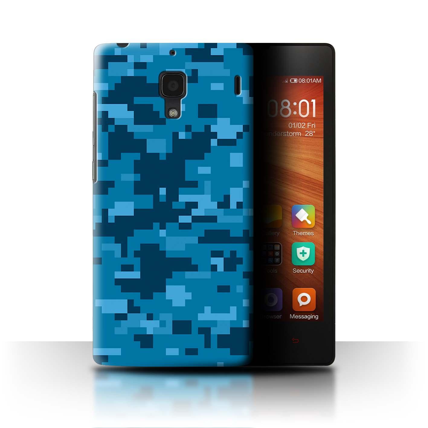 timeless design 52061 e797c STUFF4 Back Case/Cover/Skin for Xiaomi Redmi 1S/Military Camo ...