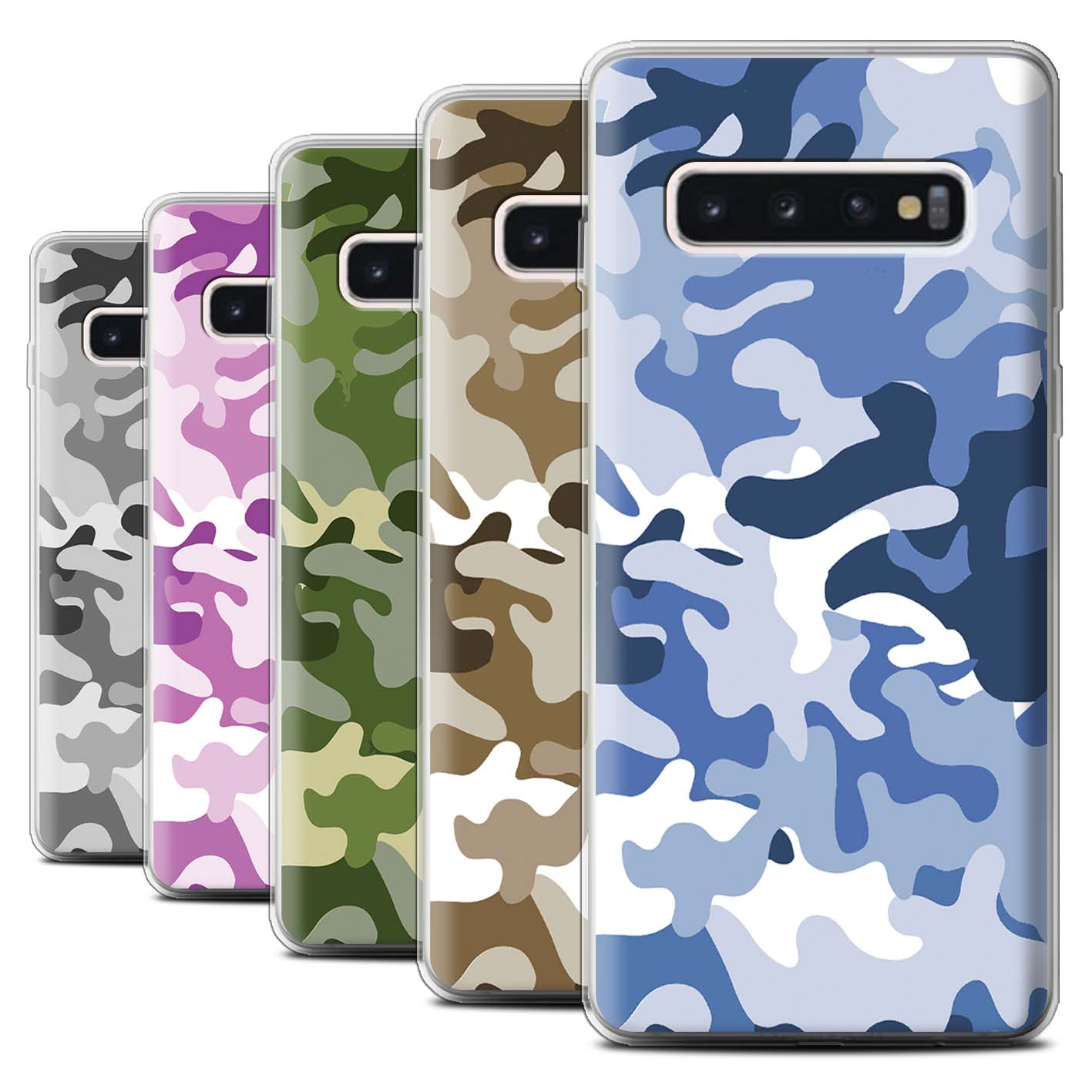 Gel-TPU-Case-for-Samsung-Galaxy-S10-Camouflage-Army-Navy
